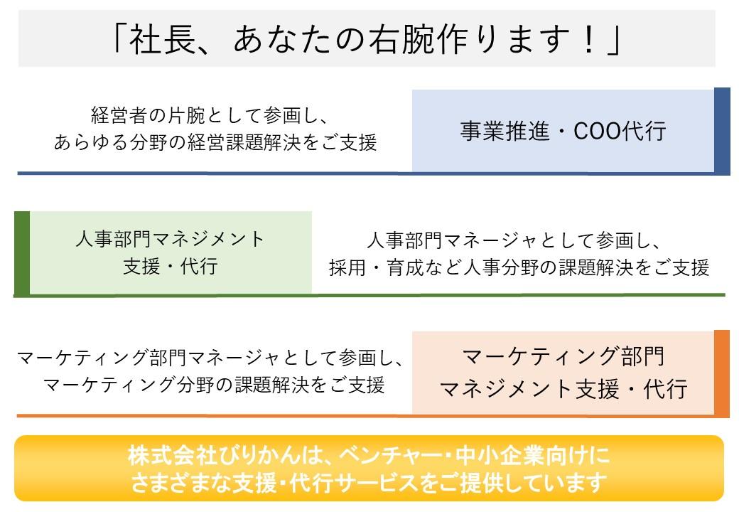 事業推進・COO代行サービス
